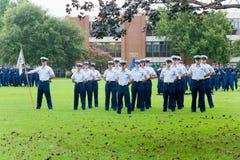 Graduation du garde côtier MST Photographie stock