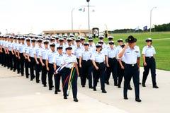Graduation du garde côtier des USA Image libre de droits