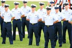 Graduation du garde côtier des USA Photo libre de droits
