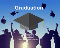 Graduation Education Learning Academic Concept Stock Images
