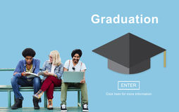 Graduation Education Study University Achievement Success Websit royalty free stock image