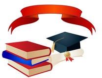Graduation Elements vector Royalty Free Stock Image