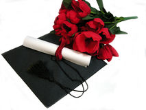 Graduation flowers Royalty Free Stock Photos