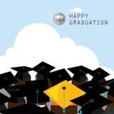 Graduation frame Stock Photo