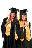 Graduation Friends Stock Photo