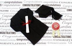 Graduation Gear Stock Photo
