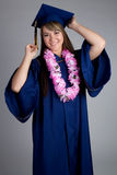 Graduation Girl Stock Photography