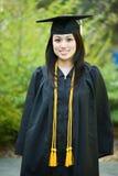 Graduation girl. A shot of a happy beautiful graduation girl Royalty Free Stock Photos