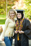 Graduation girl Royalty Free Stock Images