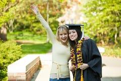 Graduation girl stock photo