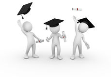 Graduation group Royalty Free Stock Photos
