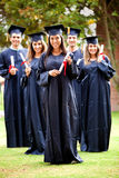 Graduation group Royalty Free Stock Photo