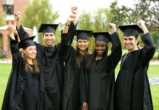Graduation group Stock Images