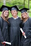 Graduation group Royalty Free Stock Images