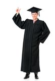 Graduation guy Stock Photos