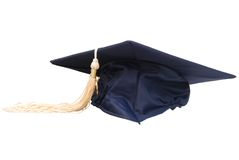 Graduation hat. A graduation hat on white background Stock Photo