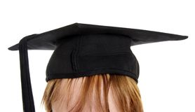 Graduation hat Stock Images