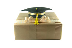 Graduation hat Royalty Free Stock Photo