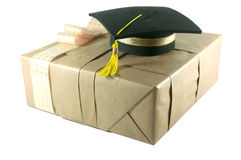 Graduation hat Stock Image