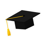 Graduation hat isolated. Icon  illustration graphic design Stock Photography