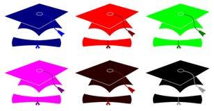 Graduation Hats Royalty Free Stock Image