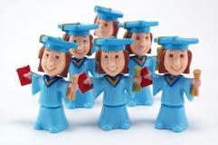 Graduation heureuse ! Images stock