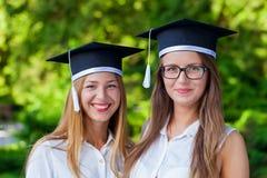 Graduation heureuse Photographie stock libre de droits