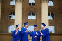 Graduation joy Stock Images