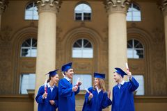Graduation joy Royalty Free Stock Photography