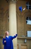 Graduation joy Royalty Free Stock Photo