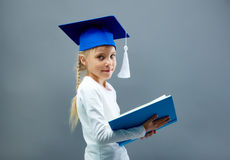 Graduation kid Stock Photo