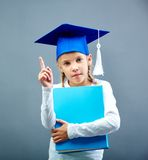Graduation kid Stock Images