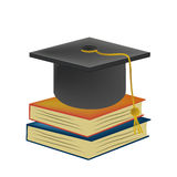 The graduation of knowledge Royalty Free Stock Photography