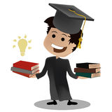 Graduation knowledge Royalty Free Stock Photography