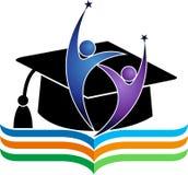 Graduation logo Stock Photo