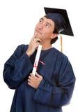 Graduation man Stock Photography