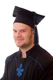Graduation man Royalty Free Stock Image