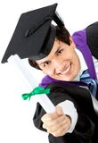 Graduation man portrait Stock Image