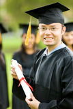 Graduation man portrait Royalty Free Stock Image