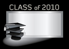 Graduation with mortar Stock Image