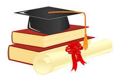 Graduation mortar Royalty Free Stock Image