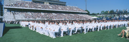 Graduation at Naval Academy Stock Photos
