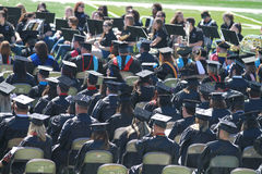 Graduation, Northwestern Oklahoma State University Stock Photo
