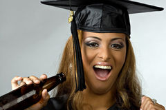 Graduation Partier Royalty Free Stock Image