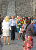 Graduation party in Tallinn Stock Photo