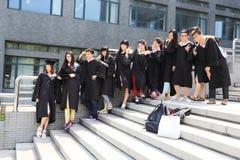 Graduation photos Royalty Free Stock Images