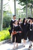 Graduation photos Stock Photography
