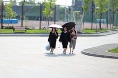 Graduation photos Stock Images
