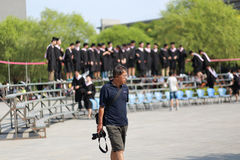 Graduation photos Royalty Free Stock Photos