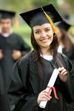 Graduation portrait Royalty Free Stock Photo